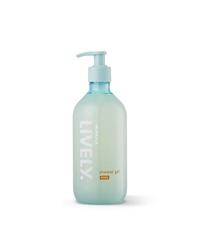 Lively Shower Gel, Minty